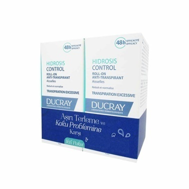 Ducray Hidrosis Control Roll-On Anti-Transpirant 2x40ml Set Renksiz